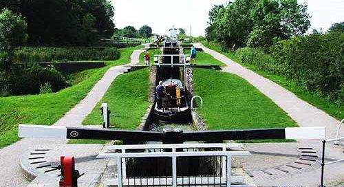 The Foxton Locks, Harborough