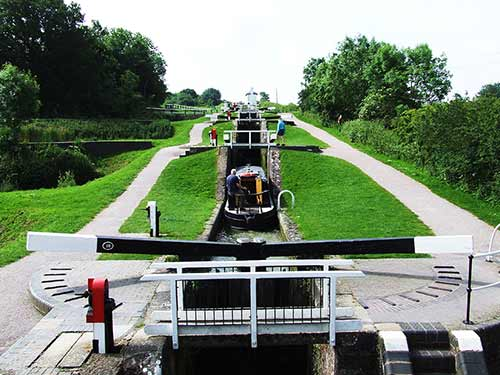 The Foxton Locks, Harborough