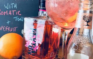Pink Gin at Market Harborough's Food and Drink Festival