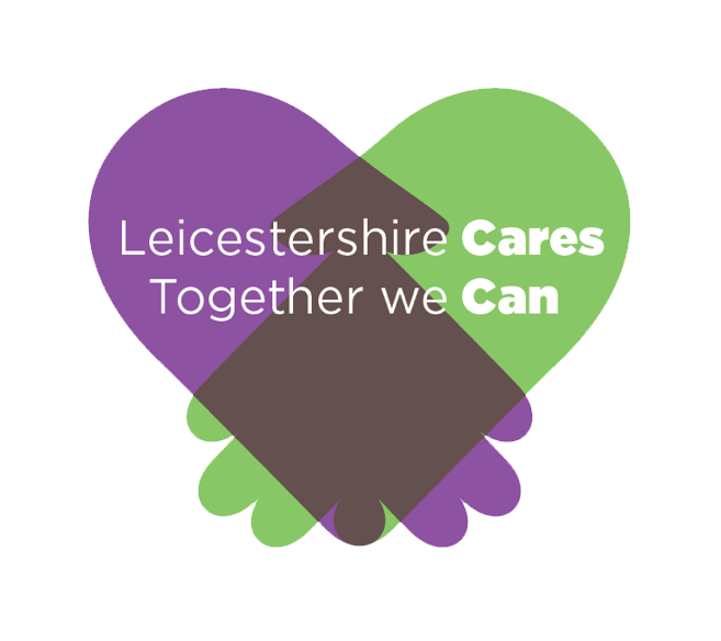 The Leicestershire Cares logo to represent the organisation